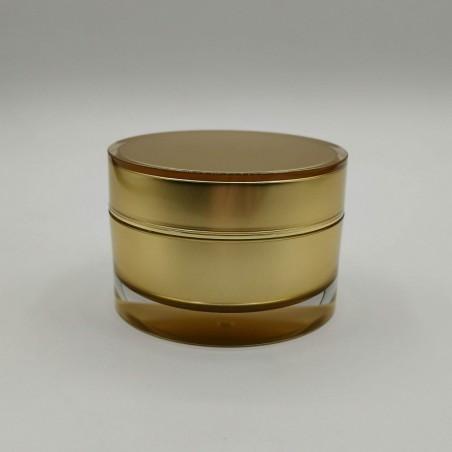 Acrylic round vase Gold