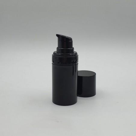 Airless Bottle Black – Glossy Cap