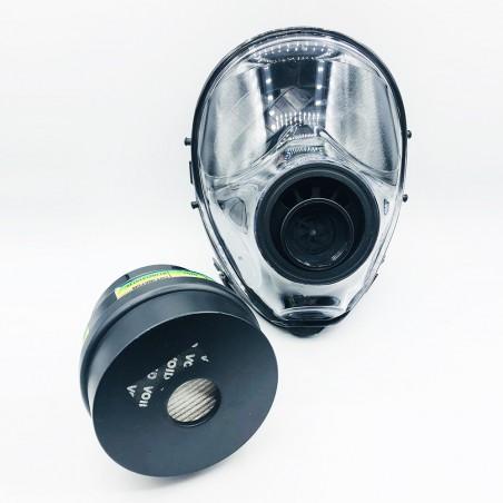 Μάσκα για βαρέα χημικά