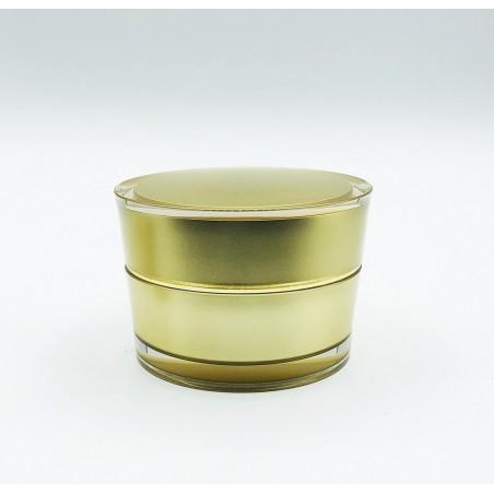 Acrylic vase V shaped Gold