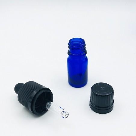 Pharmaceutical glass vial F18 Blue (20 pcs)