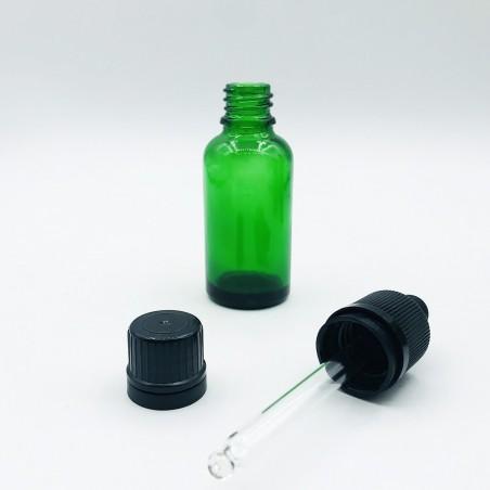 Φαρμακευτική Φιάλη Φ18 Πράσινη (Pack)