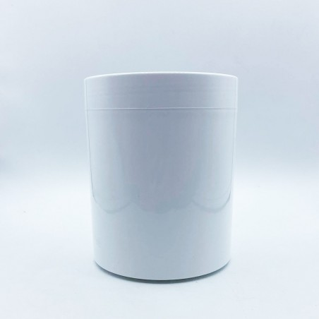 Βάζο Χαμηλό Λευκό