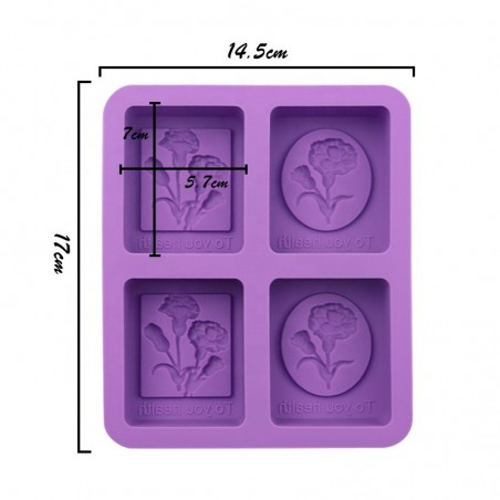 Silicone Mold Carnations