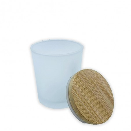 Glass Jar for Candles Matte 220 ml